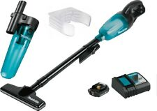 Makita XLC02ZB + Cyclonic Attachment and Wall Mount Lithium-Ion Cordless Vacuum.