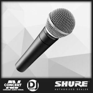 SHURE SM58 Microphone, Handheld Dynamic Vocal SM-58 BRAND NEW - 100% Genuine -