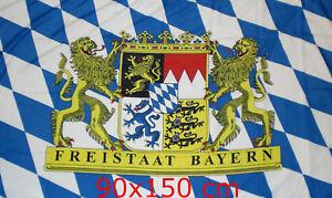 Flagge Fahne Freistaat Bayern  90x150 cm    NEU