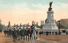 B85764 quen victoria memorial militaria  military  london uk