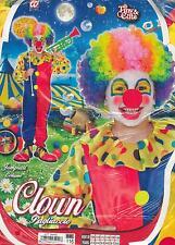 Vestito, Abito, Costume, Carnevale, PAGLIACCIO, CLOWN ( 4-5 ANNI ALTEZZA116cm. )