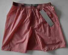 rick owens CYCLAMEN DK ROSE boxer ELASTIC BAND viscose shorts ro40 usa4 NEW