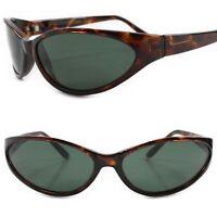 True Vintage Deadstock Rockabilly Green Lens Tortoise Womens Cat Eye Sunglasses
