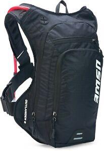USWE Black Outlander 9 Hydration Backpack With a 3L Bladder  MX Enduro MTB