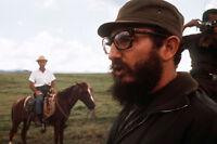 CUBAN POSTER Water color Vintage  23X17 Jose Antonio Echeverria Fidel Castro Che