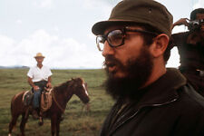 Fidel Castro Rare Shot In Green 60'S 11x17 Mini Poster
