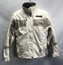 Spyder Xscap Entrant Gii Ski Jacket Womens 10 Sz L/White/ FREE SHIPPING/ No Hood