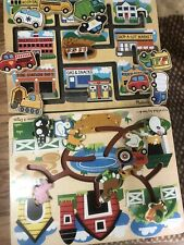 daycare supplies, box, Kids puzzles, daycare wall decorations