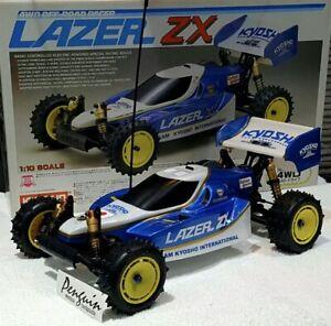 Kyosho Lazer Zx Bodyshell Undertray Wing Lexan Reproduction