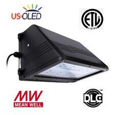 90 Degree 40W LED Wall Pack Light,MeanWell Driver,5000K,100-277VAC,ETL/DLC