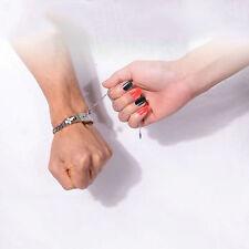 Titanium stainless steel Love Heart Lock Bracelet Key Pendant Necklace Gift Box