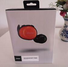Bose SoundSport Free Wireless Headphones /Orange/ Complete Wireless Earphone