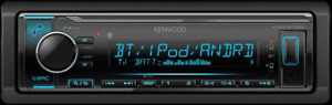 AUTHENTIC Kenwood KMM-BT322 Bluetooth, Media Car Stereo(NO CD) 2DAY SHIPPING