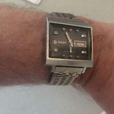 "Rare Vintage Iconic""Rado,Manhattan""Square Face Wrist Watch,1968."