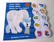 Polar Bear, Polar Bear, What Do You Hear? by Martin+Carle Board Books Book (Eng)