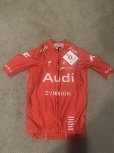 Castelli Aero Race 6.0 Jersey NEW, Audi Cycling Team LTD Edition, Small