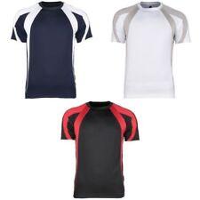 Bequem sitzende Herren-T-Shirts mit Rundhals Sport