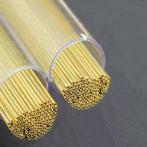 50pcs Brass Electrode Tubes for EDM Drilling Machine Diameter 1.5mm 400mm Long