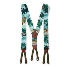 Ralph Lauren RRL Vintage Hawaiian Leather Braces Suspenders