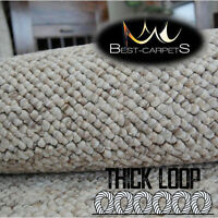 EXCLUSIVE MODERN FLOOR THICK HARDWEARING CARPETS CASABLANCA beige EXTRA LARGE