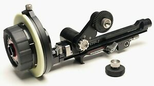 OConnor CFF-1 Cine Follow Focus for Arri 15mm LWS Rods-use w/ zeiss sony canon