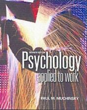 Psychology Applied to Work: An Introduction to Industrial and Organiza-ExLibrary