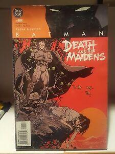 Batman Rah's Al Ghul Death & the Maidens #1-9 by Rucka & Janson 2003 DC Comics
