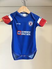 Babies Soccer Outfit Team La Maquina de La Cruz Azul (mamelucos )