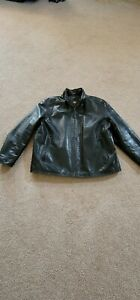 Marc New York by Andrew Marc Men's Soft Black Leather Jacket XXL