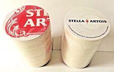 "Stella Artois STAR Art Series Round Beer Coasters 4"" - 125 Pack - New & F/Shipn."