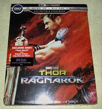 New Thor Ragnarok 4K Ultra HD/Blu-ray Steelbook Bestbuy Exclusive