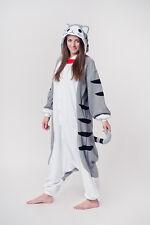 KIGURUMI SAZAC JAPAN Ori Cosplay Schlafanzug onesie Party Kostüm KATZE Fasching