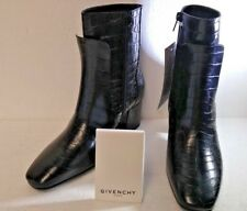 GIVENCHY PATENT LEATHER, BOTTINE 6 PARIS, BOOTS, SIZE 36.5EU, 5.5US, NIB!