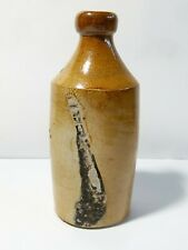More details for antique 19thc stoneware ginger beer porter very crude naive made 6