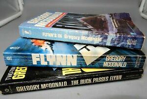 Gregory McDonald FLYNN - FLYNN'S IN - BUCK PASSES FLYNN pb set