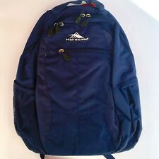 High Sierra Navy Curved Backpack  ~ NEW