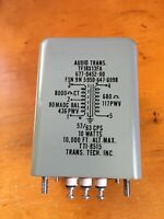 Vintage Transformer Technology TTI-8515 Audio Transformer