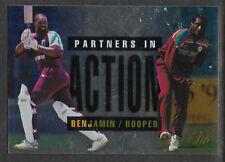 FUTERA 1996 CRICKET ELITE KENNETH BENJAMIN & CARL HOOPER PARTNERS CARD No 53