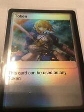 Yugioh Token Custom Holo Anime Saber Fate/Zero Fate/Stay Night