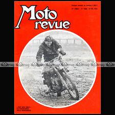 MOTO REVUE N°1960 HUSQVARNA 360 SPORTSMAN, SEELEY, NORTON COMMANDO 750 S 1969