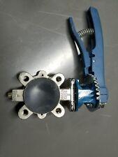 dezurik 2 inch butterfly valve
