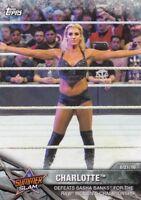 2017 Topps WWE Women's Division Sammelkarte, Momments # WWE-2 Charlotte
