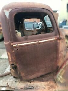 1940 FORD PICK UP CAB ORIGINAL 1941 1/2 TON TRUCK CAB AND DOORS 1946 HOT ROD  40