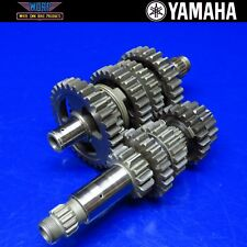 2002 Yamaha YZ250F Transmission Gear Box Main Counter Drive Lay Shaft Dogs Trans