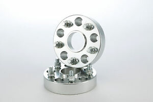 PORSCHE SPECIFIC 1.5 inch Wheel Spacer Spacers Set of 2 Adapters - Hub Centric