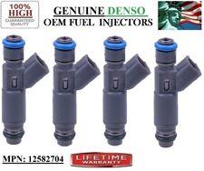 Authentic Denso #12582704 -05-06-07 Saturn ION 2.2L 2.4L I4 Fuel Injectors 4pack