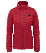 The North Face W Thermoball FZ JKT rumba red XL
