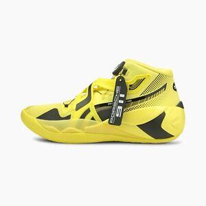 Puma DISC Rebirth Porsche Lifestyle Shoes Yellow 195370 01 Size 10.5 Brand New