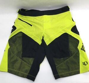 Pearl Izumi BMC Trailcrew Veer Mountain Bike Short With Liner Lime Small 215448