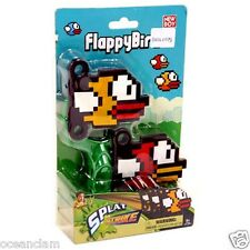 Flappy Sticky Bird and Slingshot catapult splat strike fly stick kids toy